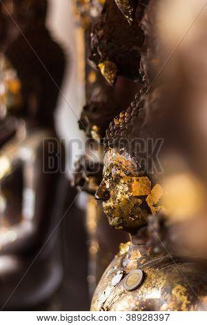 Buddha Macro  In Wat Doikum