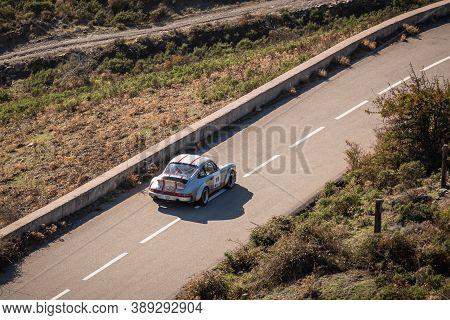 Col De San Colombano, Corsica, France - 8th October 2020: Thierry Bousquet & Elisabeth Defrance Comp