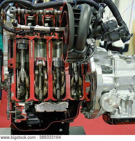 Four Cylinder Modern Gasoline Internal Combustion Engine, Lifestyle