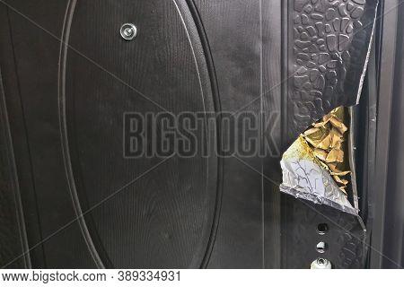 Breaking A Weak Metal Door, Poor Protection Of The House , Lifestyle