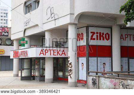 Wroclaw, Poland - May 11, 2018: Pharmacy Store In Wroclaw, Poland. As Of 2019 There Were 13,777 Phar