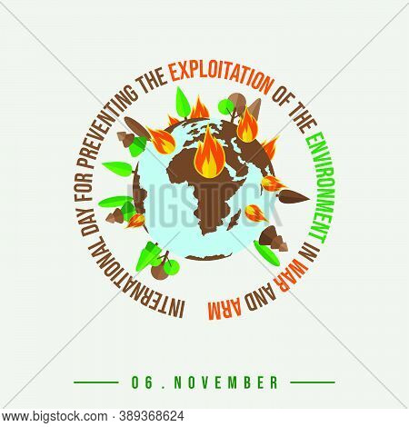 International Day For Preventing The Exploitation Of The Environment In War And Armed Conflict Desig