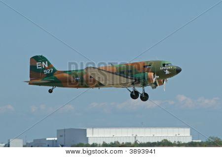 C-47 Taking Off