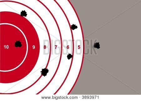 Target Shooting Illustration