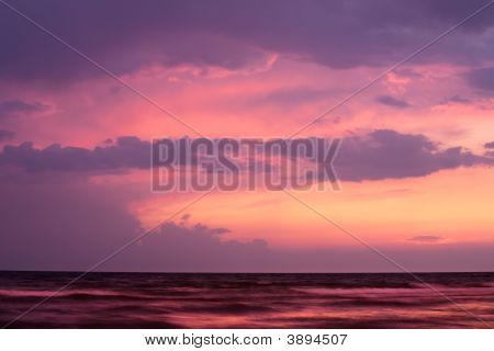 Sunset On Black Sea