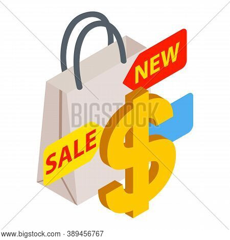 Purchase Incentive Icon. Isometric Illustration Of Purchase Incentive Vector Icon For Web