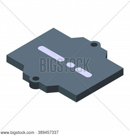 Voltage Regulator Icon. Isometric Of Voltage Regulator Vector Icon For Web Design Isolated On White