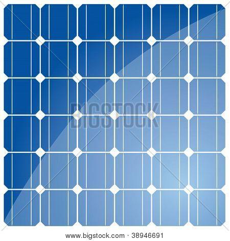 Solar cell pattern