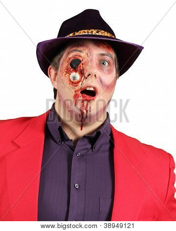 Gorey Makeup For Halloween And Horror Scenes