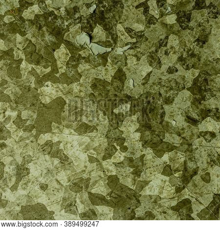 Khaki Texture. Watercolour Camouflage Illustration. Grey War Pattern. Graphic Woodland Print. Dark K