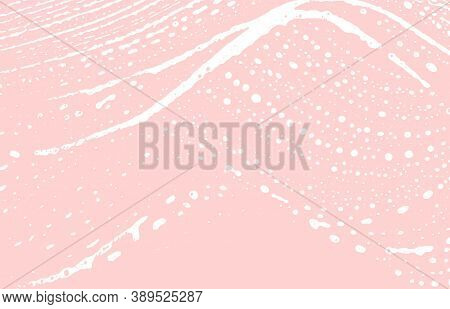 Grunge Texture. Distress Pink Rough Trace. Gorgeous Background. Noise Dirty Grunge Texture. Uncommon