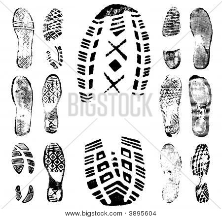 Footprint Traces Collection