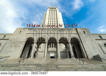 Architecture Los Angeles City Hall California USA