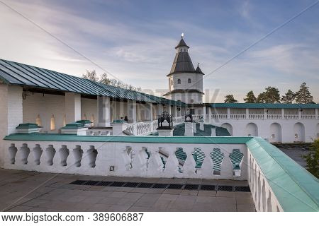 Istra, Russia - October 11, 2020: The Resurrection Monastery Or New Jerusalem Monastery. Istra, Mosc