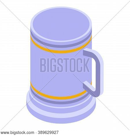 Mug Icon. Isometric Of Mug Vector Icon For Web Design Isolated On White Background