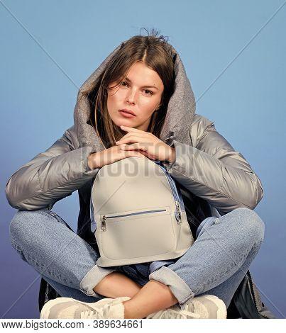 Little Backpack. Aesthetically Pleasing Style. Inspiring Wardrobe. Look Fashionable. Purposeful Laye