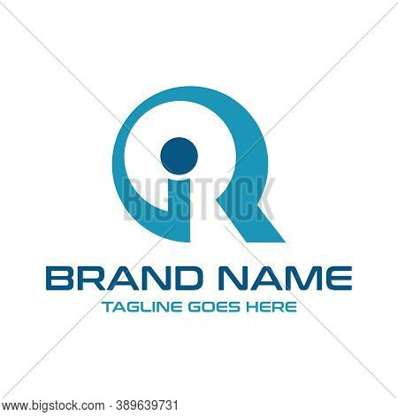 Initial Logo Ir Your Company Or Brand
