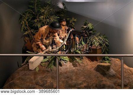 Hong Kong, China - January 13, 2016: Museum Of Coastal Defense Is Located On Hong Kong Island And Is