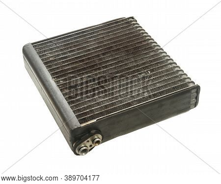 Cooler Evaporator Unit (with Clipping Path) Isolated On White Background