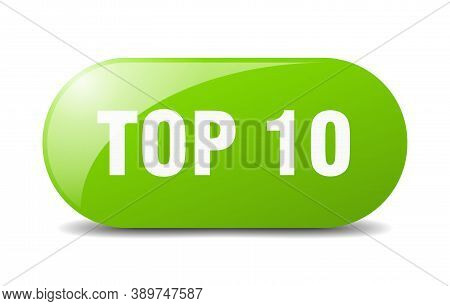 Top 10 Button. Top 10 Sign. Key. Push Button.
