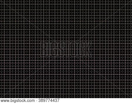 Intersecting Horizontal And Vertical Bars Create A Grid Pattern In Shades Of Brown On Black Backgrou
