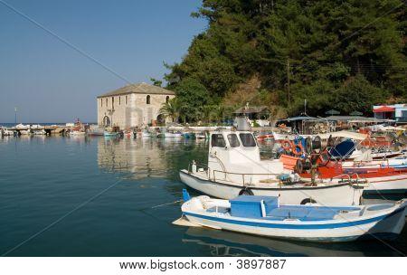 Skala Potamias Port Thasos Island Greece