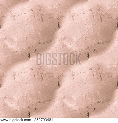 Pale Dirty Grunge Retro. Brown Old Dust Illustration. Ancient Abstract Background. Paint Stone Textu