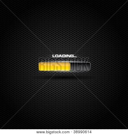 Dark loading or progress bar