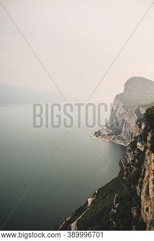 Beautifull View On Garda Lake From Terrazza Del Brivido