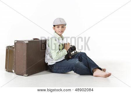 Photographer time traveler