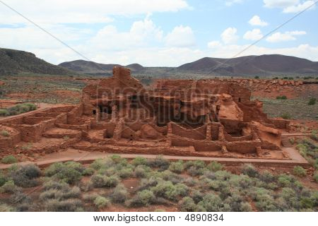 An Ancient Structure In Wupatki National Monument