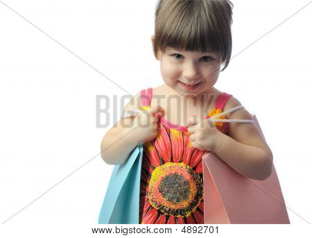 The Little Girl With Color Package