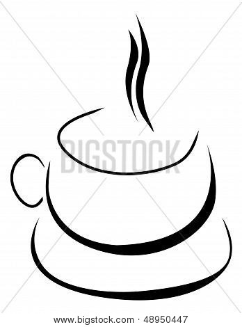 outline cup