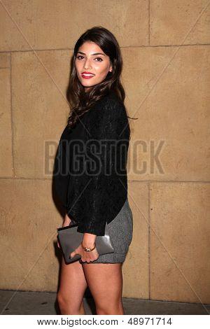LOS ANGELES - AUG 5:  Amanda Setton arrives at the