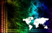 A Global Business Abstract Background Art Texture poster
