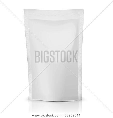Blank bag package.