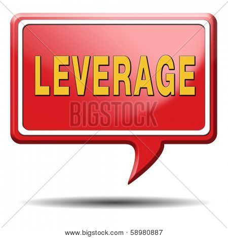 leverage notional or economic borrowing money hedge funds profits and losses assets liabilities poster