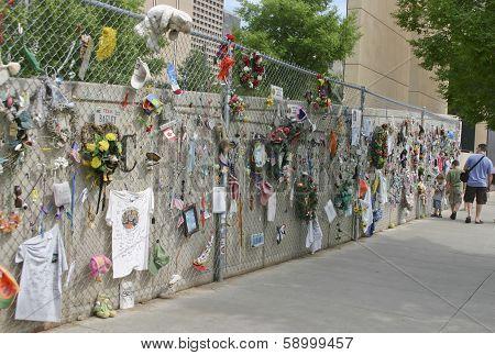 Oklahoma Bombing Memorial Memorabilia