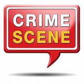 crime scene investigation murder forensic science invest criminal case and searching and collecting evidence to solve assassination poster