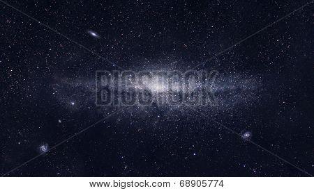 Bright Galaxy