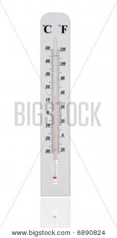 White Temperature Gauge