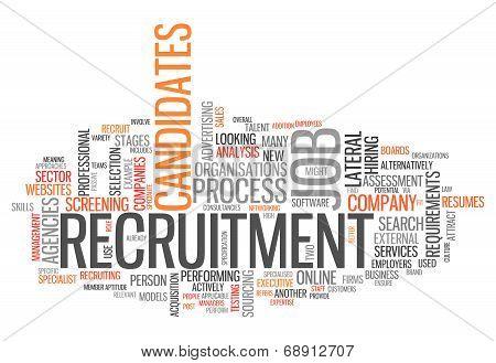 Word Cloud Recruitment