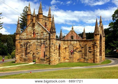 Port Arthur Church, Tasmania