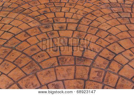 Porphyry Stone Floor - Sanpietrini Or Sampietrini / Geometric Floor