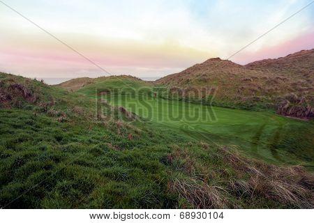 Beautiful Ballybunion Links Golf Course