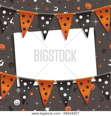 Halloween Card Decoration