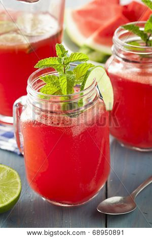 Refreshing Homemade Watermelon Agua Fresca