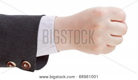 Clenched Fist - Hand Gesture