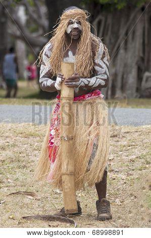 Kanak With Musical Instrument