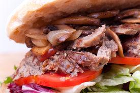Macro Picture Of Sandwich